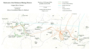 Railroads of the Robinson Mining District