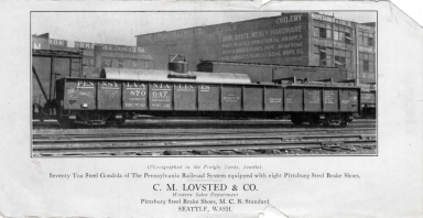 C.M. Lovsted & Co. Advertisement