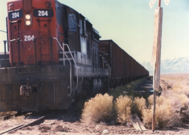 #204 with Ore Train
