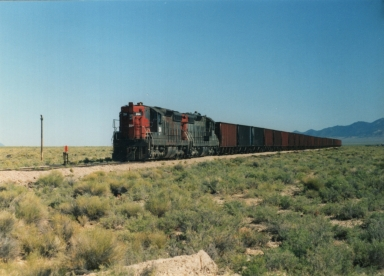 #204 with ore train.