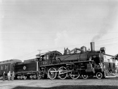 #40 with Excursion in the East Ely Yard