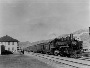 #40 with Excursion at East Ely Depot