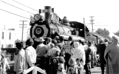 #40 with 50th Anniversary Train