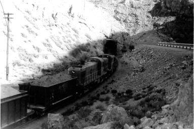 Loaded Ore Train
