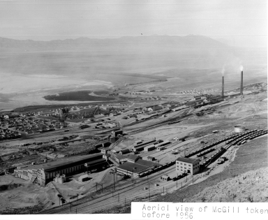 Aerial View of Smelter