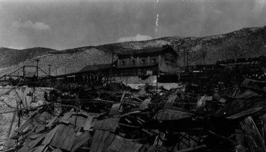 McGill Smelter After Fire