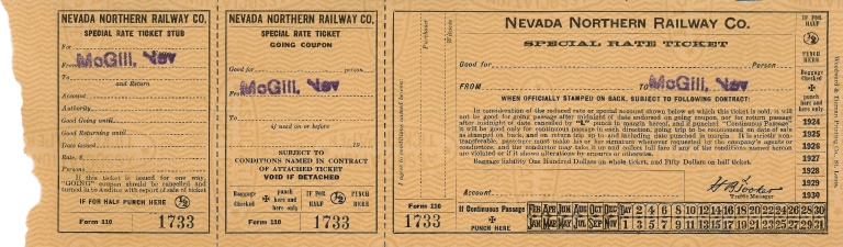NNRy Special Rate Ticket