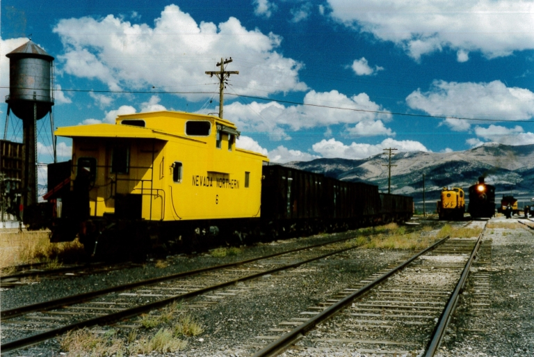 Caboose and Locomotives