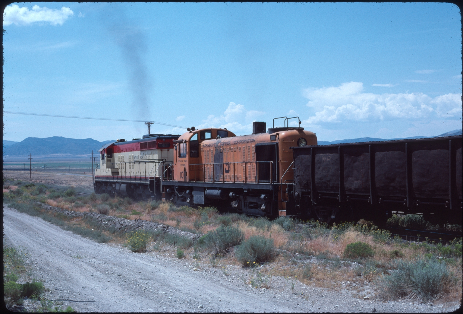 #401 and #109 with Freight