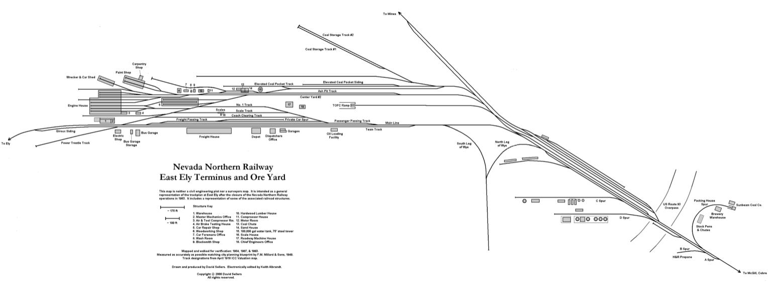 East Ely Terminus and Ore Yard