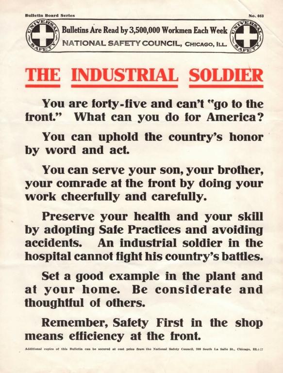 NSC Bulletin-The Industrial Soldier